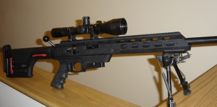 MilCun TS2 - Police Sniper Rifle with a Tactical Stock